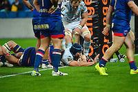 Essai Francois VAN DER MERWE - 07.03.2015 -  Racing Metro / Grenoble  -  19eme journee de Top 14<br />Photo : Dave Winter / Icon Sport