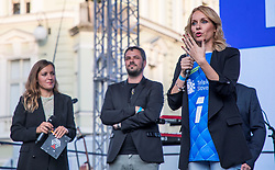 Sanja Modric during the Day for the medals: Reception of Slovenian sport heroes on 30.9.2019 on Kongresni square, Ljubljana, Slovenia. Photo by Urban Meglič / Sportida