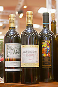Clos Triguedina, cuvee Prince Probus and the cuvee The Black wine, Cahors, France Cahors Lot Valley France