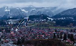 30.12.2018, Schattenbergschanze, Oberstdorf, GER, FIS Weltcup Skisprung, Vierschanzentournee, Oberstdorf, Probesprung, im Bild Mackenzie Boyd-Clowes (CAN) // Mackenzie Boyd-Clowes of Canada during his Trial Jump for the Four Hills Tournament of FIS Ski Jumping World Cup at the Schattenbergschanze in Oberstdorf, Germany on 2018/12/30. EXPA Pictures © 2018, PhotoCredit: EXPA/ Peter Rinderer