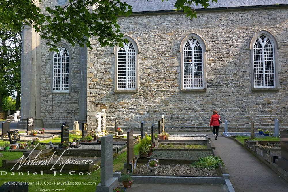 Exploring St. Columba's Church, Drumcliff, Ireland.