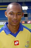 Fotball<br /> Frankrike 2004/05<br /> FC Gueugnon<br /> 27. juli 2004<br /> Foto: Digitalsport<br /> MARCO RANDRIANANTOANINA