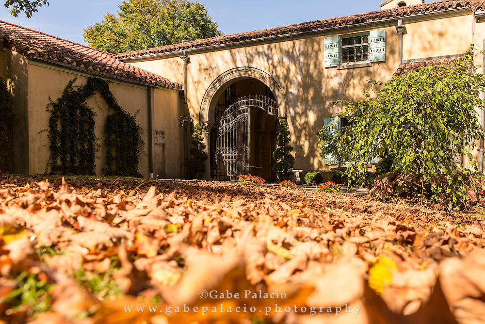 Autumn at Caramoor in Katonah New York on October 3, 2014. <br /> (photo by Gabe Palacio)