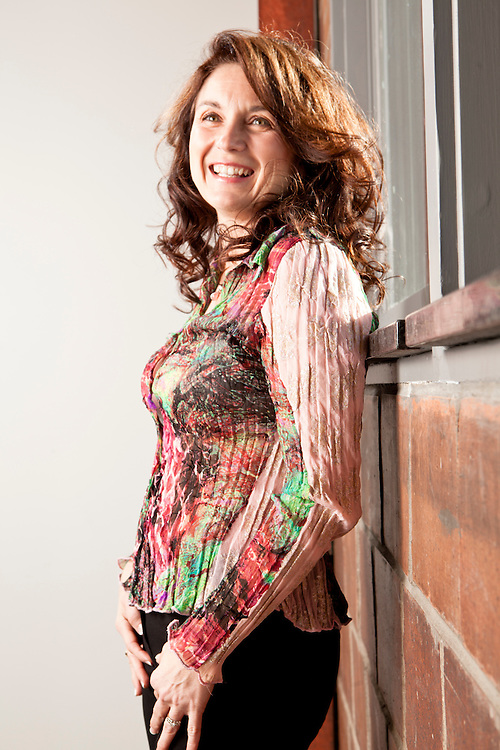 """24 November 2010- Patti Hipple is photographed at minorwhite studios for Omaha Magazine's """"Look Good, Feel Good"""" feature."""
