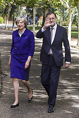 The Prime Minister May visiting Madrid, Spain; October 13th, 2016