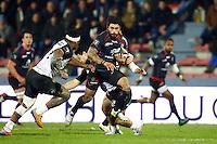 Yann David - 10.01.2015 - Toulouse / La Rochelle - 16e journee Top 14<br />Photo : Manuel Blondeau / Icon Sport
