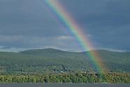 Newburgh waterfront rainbow