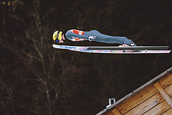 04.03.2021, Oberstdorf, GER, FIS Weltmeisterschaften Ski Nordisch, Oberstdorf 2021, Herren, Skisprung HS137, Qualifikation, im Bild Evgeniy Klimov (RSF) // Evgeniy Klimov of Russian Federation during qualification for the ski jumping HS137 competition of FIS Nordic Ski World Championships 2021 in Oberstdorf, Germany on 2021/03/04. EXPA Pictures © 2021, PhotoCredit: EXPA/ JFK