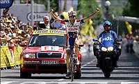 Sykkel, 14. juli 2005, TOUR DE FRANCE 2005 / RONDE VAN FRANKRIJK 2005 / SPORT CYCLING CYCLISME WIELRENNEN / <br /> ETAPE STAGE RIT 12 : BRIANCON - DIGNE-LES-BAINS /  DAVID MONCOUTIE<br /> FOTO: DIGITALSPORT<br /> NORWAY ONLY