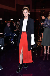 Olivia Palermo attending at the Nina Ricci show as a part of Paris Fashion Week Ready to Wear Spring/Summer 2017 on 01 October, 2016 in Paris, France. Photo by Alban Wyters/ABACAPRESS.COM