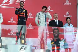 June 25, 2017 - Baku, Azerbaijan - Motorsports: FIA Formula One World Championship 2017, Grand Prix of Europe, .#3 Daniel Ricciardo (AUS, Red Bull Racing), #18 Lance Stroll ( CAN, Williams Martini Racing) (Credit Image: © Hoch Zwei via ZUMA Wire)