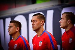 September 1, 2017 - Harrison, NJ, USA - Harrison, N.J. - Friday September 01, 2017:   Clint Dempsey during a 2017 FIFA World Cup Qualifying (WCQ) round match between the men's national teams of the United States (USA) and Costa Rica (CRC) at Red Bull Arena. (Credit Image: © Howard Smith/ISIPhotos via ZUMA Wire)