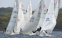 Day one of the Silvers Marine Scottish Series 2015, the largest sailing event in Scotland organised by the  Clyde Cruising Club<br /> Racing on Loch Fyne from 22rd-24th May 2015<br /> <br /> Sigma 33 fleet , GBR8856Y, Mayrise, James Miller, Helensburgh SC, GBR4270, Sigmatic, Donald & Anita Mclaren, Helensburgh SC, GBR4607, Leaky Roof II, Harper/Robertson, CCC/Cove SC<br /> <br /> <br /> Credit : Marc Turner / CCC<br /> For further information contact<br /> Iain Hurrel<br /> Mobile : 07766 116451<br /> Email : info@marine.blast.com<br /> <br /> For a full list of Silvers Marine Scottish Series sponsors visit http://www.clyde.org/scottish-series/sponsors/
