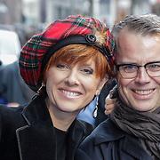 NLD/Amsterdam/20120714 - Premiere Brave, Chazia Mourali, partner Marc Schröder