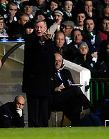 Photo: Jed Wee.<br /> Glasgow Celtic v Manchester United. UEFA Champions League, Group F. 21/11/2006.<br /> <br /> Manchester United manager Sir Alex Ferguson.