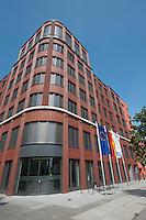 15 AUG 2009, BERLIN/GERMANY:<br /> Gebaeude der Friedrich-Ebert-Stiftung, Hiroshimastrasse 28 / Ecke Reichspietschufer<br /> IMAGE: 20090815-01-010<br /> KEYWORDS: Gebäude, Haus, Buerohaus, Bürohaus
