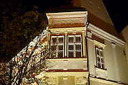 1620 Altabak House - Baroque with 18th century protruding balconies - ( Gy?r )  Gyor Hungary .<br /> <br /> Visit our HUNGARY HISTORIC PLACES PHOTO COLLECTIONS for more photos to download or buy as wall art prints https://funkystock.photoshelter.com/gallery-collection/Pictures-Images-of-Hungary-Photos-of-Hungarian-Historic-Landmark-Sites/C0000Te8AnPgxjRg