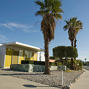 Palm Springs, CA is known for its mid-century modern architecture and examples of it are found throughout the city. Architect Donald Wexler designed seven all-steel Alexander homes, located on the same street in a Palm Springs neighborhood. His designs include the folded-roof method. ..