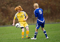 Bow versus Gilford in quartfinal matchup of NHIAA Division III soccer Sunday, October, 28, 2012.