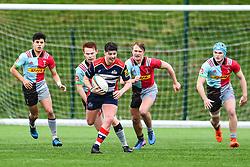 Ethan Smith of Bristol Academy U18 makes a break - Mandatory by-line: Craig Thomas/JMP - 03/02/2018 - RUGBY - SGS Wise Campus - Bristol, England - Bristol U18 v Harlequins U18 - Premiership U18 League