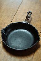 Cast iron pan.