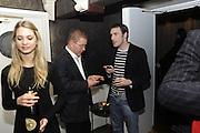 ROGER CHARTERIS; GAVIN MILLS, The 2011 Groucho Club Maverick Award. The Groucho Club. Soho, London. 14 November 2011. <br /> <br />  , -DO NOT ARCHIVE-© Copyright Photograph by Dafydd Jones. 248 Clapham Rd. London SW9 0PZ. Tel 0207 820 0771. www.dafjones.com.