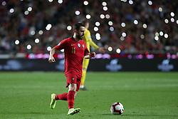March 22, 2019 - Lisbon, Portugal - Portugal's forward Bernardo Silva in action during the UEFA EURO 2020 group B qualifying football match Portugal vs Ukraine, at the Luz Stadium in Lisbon, Portugal, on March 22, 2019. (Credit Image: © Pedro Fiuza/NurPhoto via ZUMA Press)