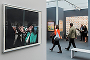 Richard Hamilton, Release 1972 - Frieze Masters London 2015, Regents Park, London. It covers several thousand years of art from 130 of the world's leading modern and historical galleries. The vetted artworks spanning antiquities, Asian art, ethnographic art, illuminated manuscripts, Medieval, modern and post-war, Old Masters and 19th-century, photography, sculpture and Wunderkammer are brought together in a singular space designed by Anabelle Selldorf.  The fair is open to the public 14–17 October.