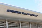Aeropuerto Isla San Cristobal. Puerto Baquerizo Moreno, San Cristobal, Galapagos, Ecuador