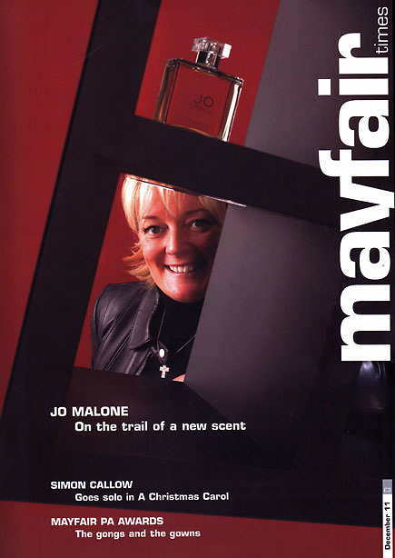 Jo Malone for Mayfair Times