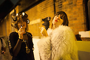 Pop party. the birthday celebration of twin sisters Valeria Napoleone and Stefania Pramma. Studio Voltaire, London SW4. 17 May 2013.