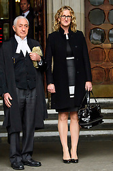 © Licensed to London News Pictures. 21/12/2016. London, UK. CLAIRE BLACKMAN arrives at the Royal Courts of Justice in London for a bail hearing for her husband, Royal Marine Sergeant Alexander Blackman. Sgt Blackman is currently serving a life sentence after being convicted of murdering a wounded Taliban fighter in Afghanistan in 2011. Photo credit: Ben Cawthra/LNP