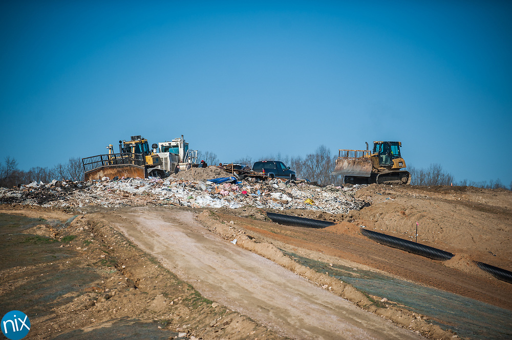 Cabarrus County's Construction and Demolition Landfill.