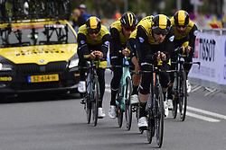 September 22, 2018 - Innsbruck, Autriche - ROOSEN Timo (NED)  ofEquipe  Team Lotto NL - Jumbo in action (Credit Image: © Panoramic via ZUMA Press)