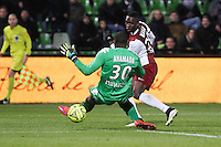 Goal Metz - 3e but Modibo MAIGA - 04.04.2015 - Metz / Toulouse - 31eme journee de Ligue 1 <br />