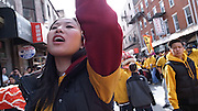 Philadelphia - 2012 January 29.Chinese new year celebration in Chinatown. Year of the Dragon...
