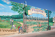 Fullerton A City Rich in History Wall Mural