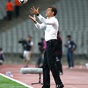 Besiktas's coach Slaven Bilic during the UEFA Europa League Play Offs Second leg soccer match Besiktas between Tromso at Ataturk Olimpiyat stadium in Istanbul Turkey on Thursday August 29, 2013. Photo by Aykut AKICI/TURKPIX