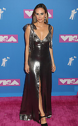 August 20, 2018 - New York City, New York, U.S. - KELTIE KNIGHT attends the arrivals for the 2018 MTV 'VMAS' held at Radio City Music Hall. (Credit Image: © Nancy Kaszerman via ZUMA Wire)