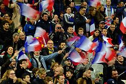 November 11, 2017 - Saint Denis, Seine Saint Denis, France - French fan's before the friendly match between France and New Zealand at the Stade de France - St Denis - France.New Zealand beats France 38-18 (Credit Image: © Pierre Stevenin via ZUMA Wire)