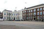 Koningin Beatrix opent in aanwezigheid van Prins Willem Alexander en Prinses Maxima het vernieuwde gebouw van de Raad van State in Den Haag .<br /> <br /> Queen Beatrix opens in the presence of Prince Willem Alexander and Princess Maxima to the new building of the State Council in The Hague.<br /> <br /> Op de foto / On the photo: