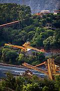 Itabira_MG, Brasil...Mineracao em Itabira, Minas Gerais. Na foto a mina do Caue...The mining in Itabira, Minas Gerais. In this photo the Caue coal mine...Foto: LEO DRUMOND / NITRO