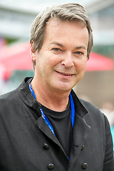 Pictured: Julian Clary <br /> Book fanatics headed to Charlotte Square in Edinburgh which is the hub of the international Book Festival to meet the authors and also to meet up with fellow fans of the printed word.<br /> <br /> <br /> Ger Harley | EEm 14 August 2017