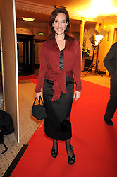 TANYA FRANKS at the 2009 South Bank Show Awards held at The Dorchester, Park Lane, London on 20th January 2009.