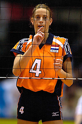 22-06-2000 JAP: OKT Volleybal 2000, Tokyo<br /> Nederland - Korea 3-1 / Erna Brinkman