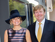 """King Willem-Alexander and Queen Maxima opened the exhibition """"Mapping Australia"""", 03-10-2016"""