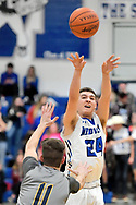 North Ridgeville Rangers at Midview Middies varsity basketball on December 8, 2017. Images © David Richard and may not be copied, posted, published or printed without permission.