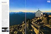 Backpacker: Hidden Lake Peak Lookout (November 2012)