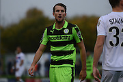 Forest Green Rovers striker Christian Doidge (9) during the Vanarama National League match between Forest Green Rovers and Dagenham and Redbridge at the New Lawn, Forest Green, United Kingdom on 29 October 2016. Photo by Alan Franklin.