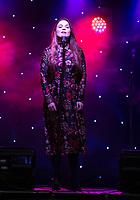 Gemma Sutton taking part in  Songs Under The Stars - a Picnic Concert ot  Betley Court Farm Betley Court Farm near Crewe. 22.08.20